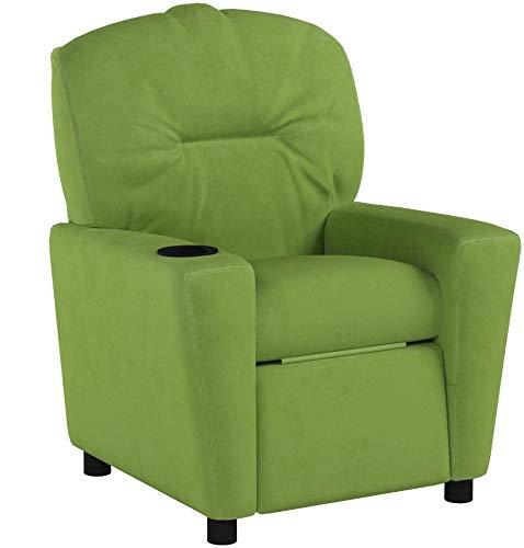 Flash Furniture Contemporary Microfiber Kids Recliner Avocado by Flash Furniture