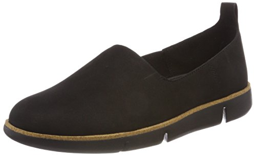 2014 online sast cheap online Clarks Women's Tri Curve Loafers Black (Black Nubuck) buy cheap top quality sale best sale authentic qwBHrA
