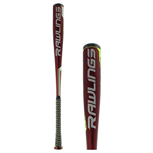 Rawlings Sporting Goods Velo Hybrid Balanced BBCOR High School/Collegiate Baseball Bat, 32'/29 oz