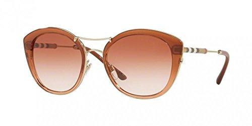 brown 360813 53 Sol brown Marrón Mujer 0be4251q De Burberry Gafas zE474q