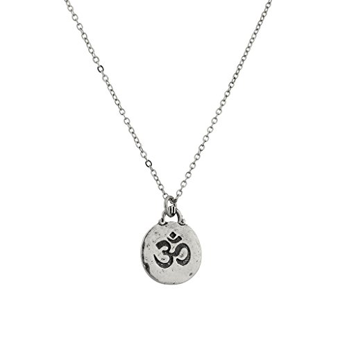 Lux Accessories Hinduism Symbol Aum Om Pratima Atman Brahman Soul Self Within Pendant Necklace.