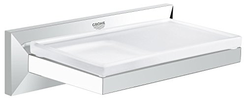 Allure Brilliant Soap Dish With Shelf by GROHE