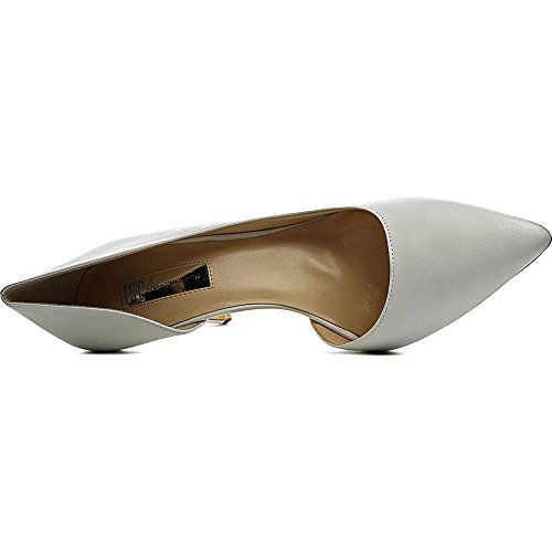 INC International Concepts Womens Kenjay Pointed Toe, Bright White, Size 7.0
