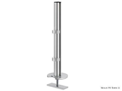 Novus Dahle 910+1159+000 Monitorhalterung, Metall, Metall, Metall, silber, 10 x 10 x 35 cm d924d0