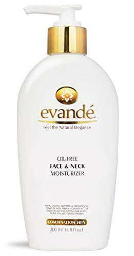evand Oil-Free Face and Neck Moisturizer All Natural, 6.80 oz.