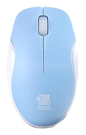 Zowie Gear Mico - Ratón (USB, Juego, Rueda, Óptico, PC, Azul