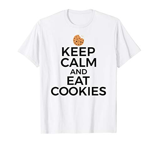 Cookie Lover Baking Gift - Keep Calm Eat Cookies T-Shirt
