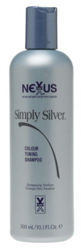Nexxus Simply Silver Colour Toning Shampoo (Platinum Pro) 10.1 oz. by Nexxus