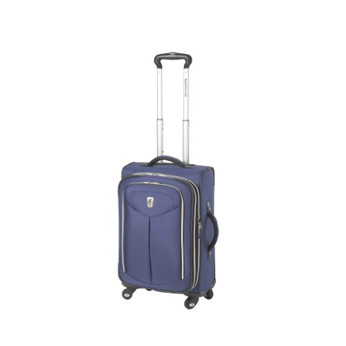 Atlantic Luggage Ultra Lite 2 21 Inches Expandable Spinner, Blue, One ()