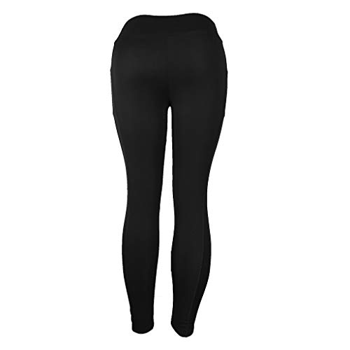 Fitness Athletic Allenamento Donna Xmiral Per Leggings Nero Sports Gym Running Da Solidi Yoga Pants qq7S60