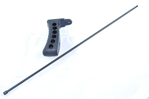 Tacbro-Mosin-Nagant-Black-Rubber-Stock-Butt-Pad-M44-9130-M48-and-Mosin-Nagant-175-Cleaning-Rod-M38-M44-M9159-M9138-T53