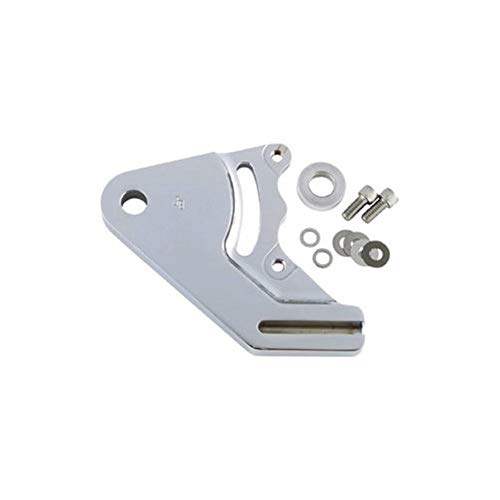 JayBrake Rear Bracket Kit for Quad Brake Caliper - 11.5in Rotor - Chrome ()