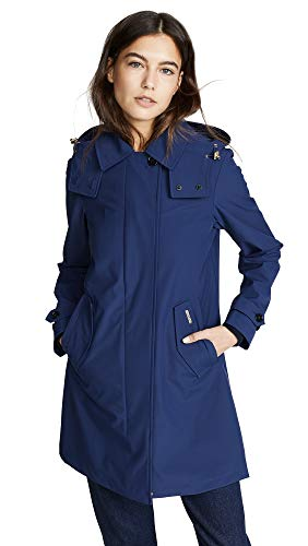 Woolrich Women's Charlotte Coat, Farmer Blue, Small