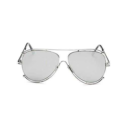 Aoligei Les lunettes de soleil de grand cadre Fashion Lady lunettes de soleil lunettes de soleil rétro européen et américain 1gQRRL0