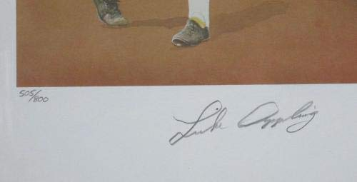 "Luke Appling Signed 18x24 Artist Proof""Luke"" Christopher Paluso Lithograph Auto Autographed MLB Art"