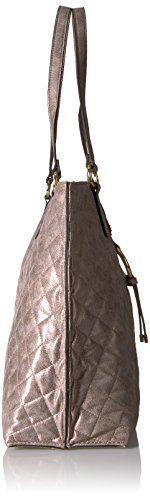 Calvin Klein Quilted Distressed Novelty Tote, Mtallic Taupe by Calvin Klein (Image #3)