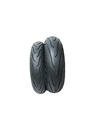 Par de Pneus Cb 300 Twister Cbx 250 MT 03 Ninja 300 Fazer 250 Traseiro 160/60-17 E Dianteiro 110/70-17 Technic Stroker