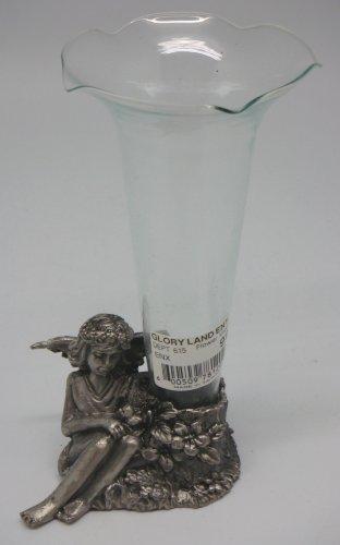 - Sitting Angel Vase Holder w/Glass Vase (Item # 72)
