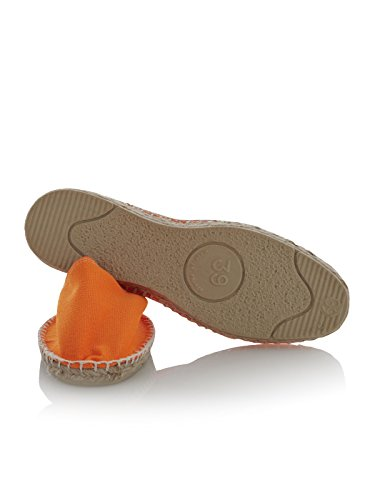Adulte Espadrilles 100 Mixte Fluo Espadrij Orange cOTFY
