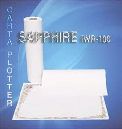 Papel Plotter Sapphire iwr100 F. to 50 cm. x 100 MT. Gr.100 (conf ...