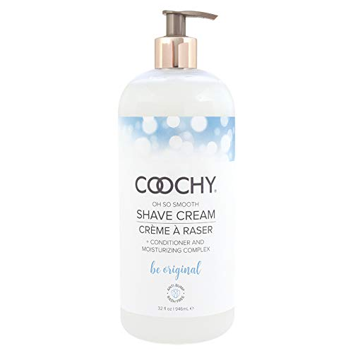 (Coochy Water Based Shave Cream Skin Protection OH SO ORIGINAL (Safe for All Body Parts Including Face and Intimate Areas) - Size 32 Oz      )