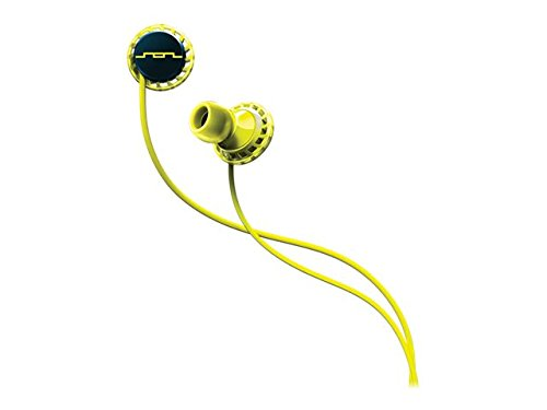 SOL REPUBLIC RELAYS SPORT- Single Button In-Ear Headphones Lemon Lime (1152-40)