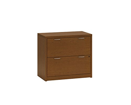 HON 11563ACHH Valido 11500 Series Two-Drawer Lateral File, 36 by 20 by 29.5-Inch, Bourbon Cherry