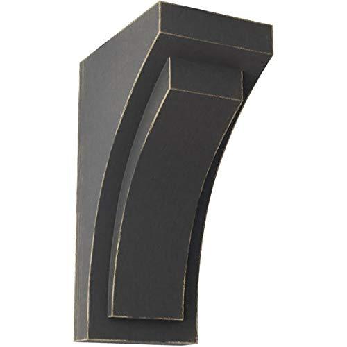 Ekena Millwork CORWD02X03X06FEBL Mini Felix Wood Vintage Decor Corbel, 2 1/2