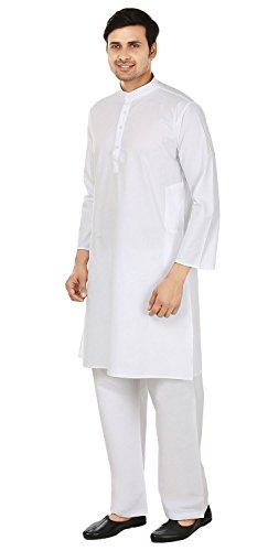 Review White Cotton Kurta Pajama