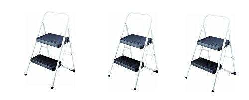 Cosco 2-Step Household Folding Step Stool (PACK OF 3) by Cosco