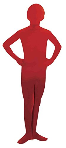 [Forum Novelties I'm Invisible Bodysuit, Red, Child's Large] (Best Man Halloween Costumes)