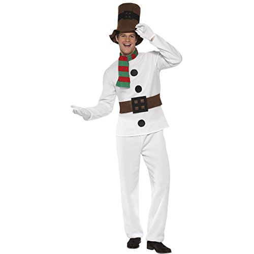 Christmas Snowman Costume For Mens And Womens Couples Christmas Cosplay Costume -