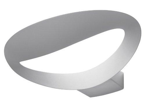 Artemide mesmeri halo lampada da parete alluminio bianco 34 x