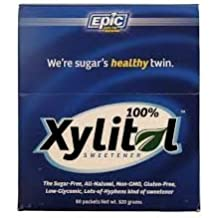 Epic Xyitol Natural Sweetner, 80-Count by Epic