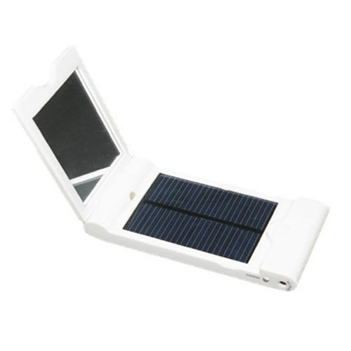 TR Solar 1200MAH Solar Charger for Mobiles & Small Power Digital Products with A Mirror (1,200 Mah Mobile)