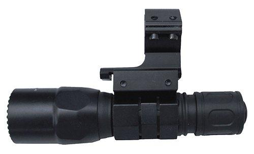 M1SURPLUS Clamp-On Tactical Flashlight Mount and 600 Lumen Surefire LED Flashlight - This kit fits 12 Gauge Mossberg 500 590 835 Remington 870 Maverick 88 (Surefire 870 Remington)