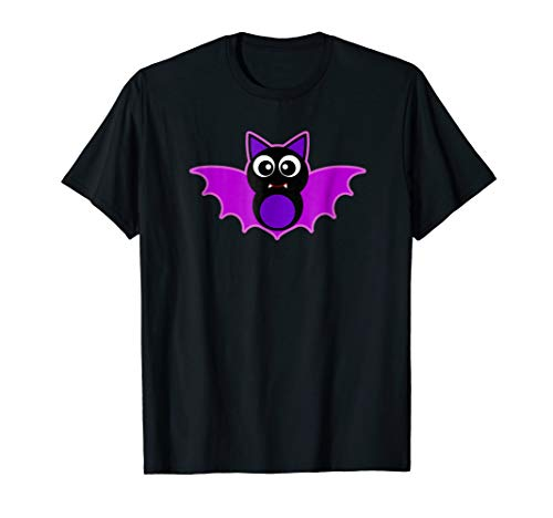 Cute Halloween T-Shirt Kids VAMPIRE BAT Boy Girl Gift Tee