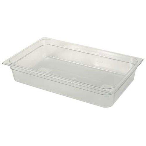 Rubbermaid Commercial Products FG111P00CLR 1/4 Size 2-1/2-Quart Cold Food Pan