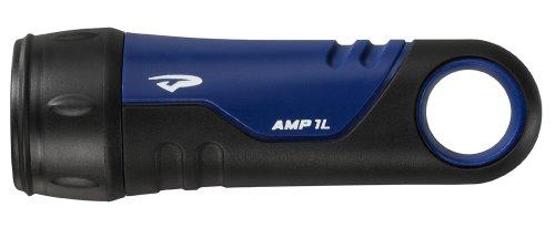 Princeton Tec AMP 1.0 Dive Light (LED Bulb/Cone/Bottle Opener, Blue) ()