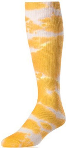 TIE DYE SOCK GOLD SM (Tie Dye Youth Socks)
