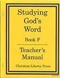 Studying Gods Word F Teachers Manual