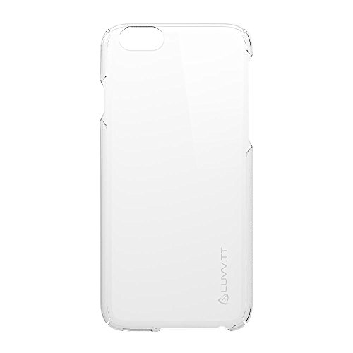 sale retailer 9ddca 7d8a2 iPhone 6 Case, LUVVITT [Cristal] Hard Shell Anti-Scratch Transparent Clear  Back Case for iPhone 6 with 4.7 inch Screen - Crystal Clear