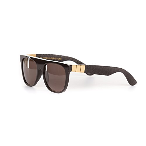 RETROSUPERFUTURE Flat Top Capo Gianni 921 With Black Zeiss - Sunglasses Capo