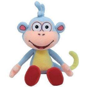Ty Beanie Baby Boots Dora's Monkey image