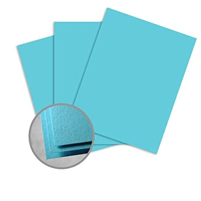 Astrobrights Lunar Blue Paper - 8 1/2 x 14 in 60 lb Text Smooth 30% Recycled 500 per Ream