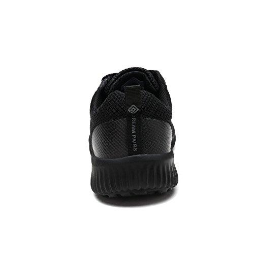Dröm Par Kvinnor 170.389-w Löparskor Komfort Sneakers Alla Svarta