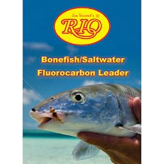 RIO Fly Fishing Saltwater 9' 20Lb Fishing Leaders, Clear