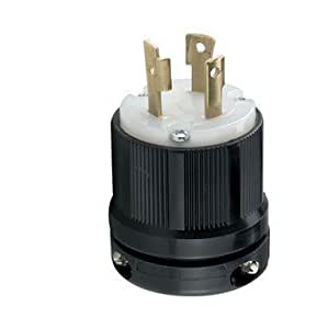 Cooper CWL530P Safety Grip Locking Plug 30A 125V