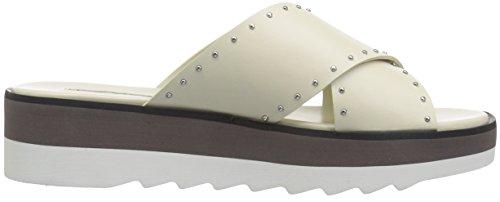 Charles David Womens Buxom Slide Sandal White