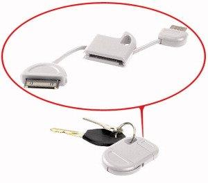 LLAVERO CABLE DE DATOS USB COMPATIBLE CON IPHONE, IPAD Y ...